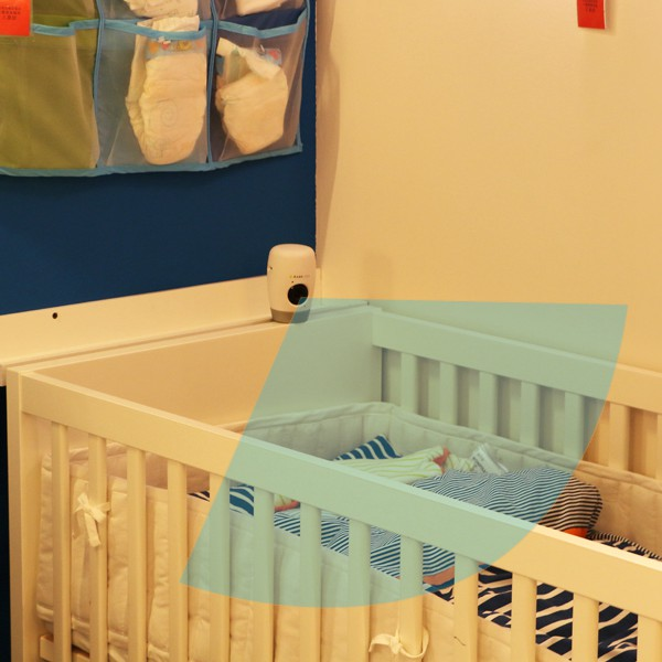 Titathink babelens watches baby bed
