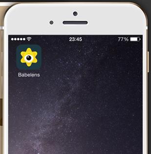 Get babelens app
